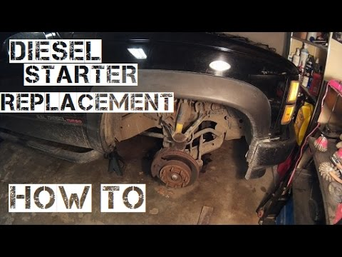 6.5 Diesel Starter Change How To Video