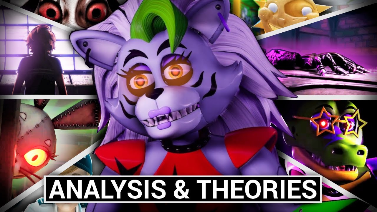 FNAF: Security Breach Gameplay Trailer: The Full Analysis (Five Nights at Freddy's Theories)