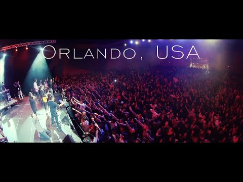 Youth experiencing the Fire of the Holy Spirit in Orlando, Florida!!