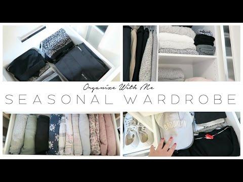 Organize With Me | Seasonal Wardrobe Swap