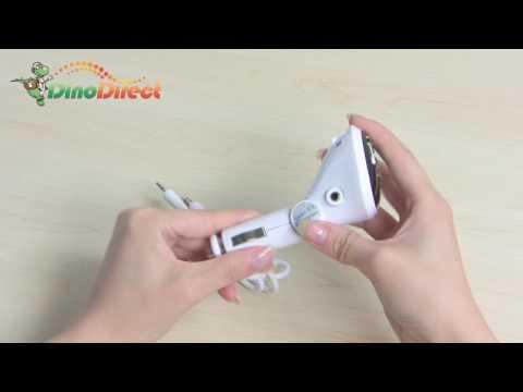 iPod FM Transmitter White - dinodirect