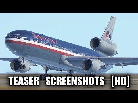 Infinite Flight - MD11, KC10, DC10 Teaser Screenshots [HD]