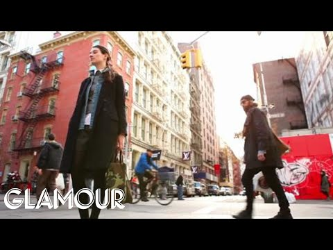 Winter Outfits from New York Fashion Week Fall 2012 - How-to Street Style | Glamour