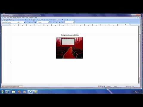 Create documents from data in WordPerfect - Part 1