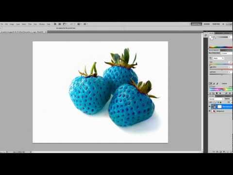 Photoshop Training: How to Change the Colour of Objects or People 2018