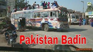 Pakistan Travel Badin To Hyderabad Road trip in Sindh vlog 2019