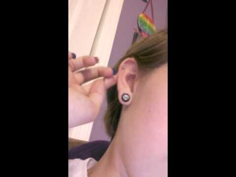 How I make fake piercing