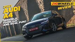 The Audi A4 Is All The Luxury Sedan You Need | Review in 5 Minutes | ZigWheels