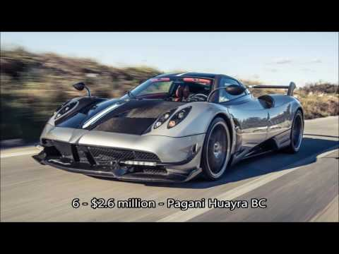 10 Most Expensive Cars In The World, exotic cars, sports cars, fancy sports cars