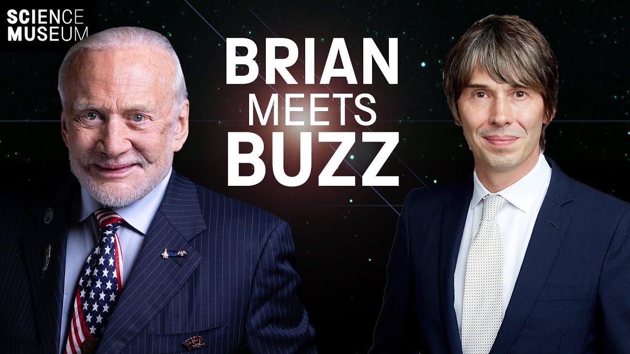 Professor Brian Cox meets Buzz Aldrin