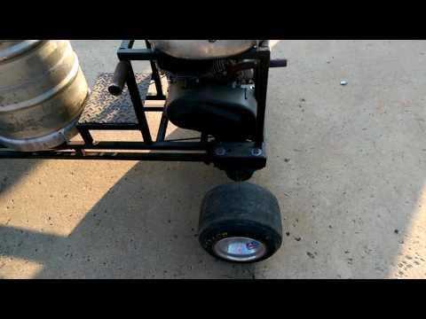 Keg racer/bar stool racer