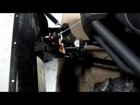 Kimpex Click N Go Angle adjustment without getting off the ATV!