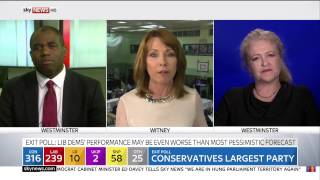 Sky News - Kay Burley Blooper | 2015 UK Election Day