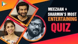 HILARIOUS: Meezaan & Sharmin's MASALEDAR Quiz On Sanjay Leela Bhansali | Malaal