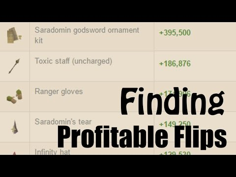 OSRS] How to Search for Profitable Items to Flip with GE