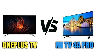 Oneplus TV vs MI TV 4A Pro | Which One Is Best 32 inch Smart TV In India??? 🔥🔥🔥