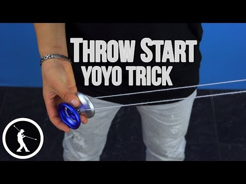Learn the Throw Start Yoyo Wind-Up Trick - feat. Josiah from Shutter Crew
