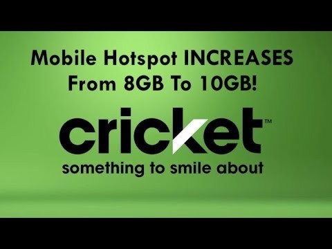 Cricket Wireless INCREASES Mobile Hotspot From 8GB To 10GB!