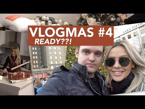 VLOGMAS #4 2017 - Are you ready for Christmas?