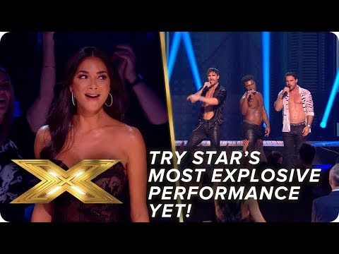 Xxx Mp4 Try Star 39 S Most EXPLOSIVE Performance Yet Live Show 4 X Factor Celebrity 3gp Sex