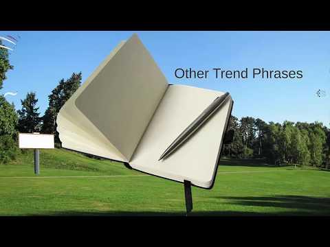 04 Line Graphs - Trend Phrases (IELTS Academic Task 1)