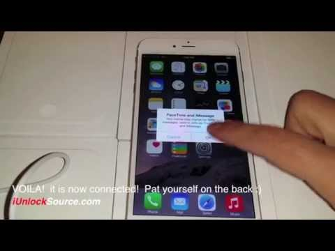 Unlock iPhone 6 or 6 Plus use it with any GSM Network!