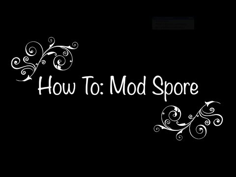How To Mod Spore For Mac