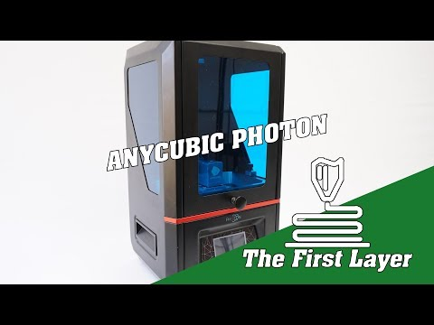 Our first look at the Anycubic Photon DLP 3D resin printer