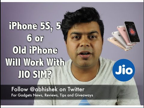 Hindi | iPhone 5, 5S Work With JIO SIM? For Both Data, Voice Calling, New iPhone 7 Work?