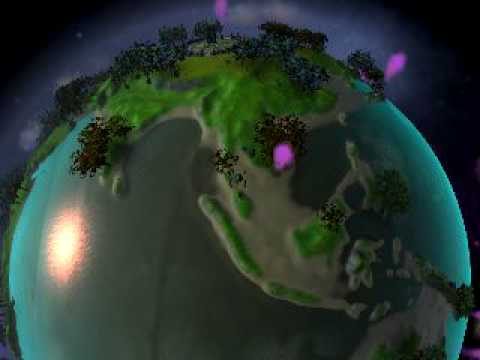 Spore - Earth is my home planet!!