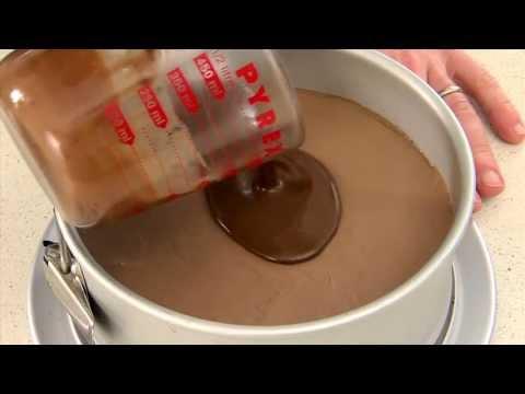 Zumbo Baking - Milk Chocolate Mousse Cake (Step 5: The Glaze)
