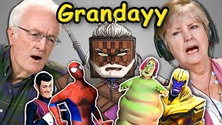 Elders React To Grandayy Memes Compilation (Meme Lord)