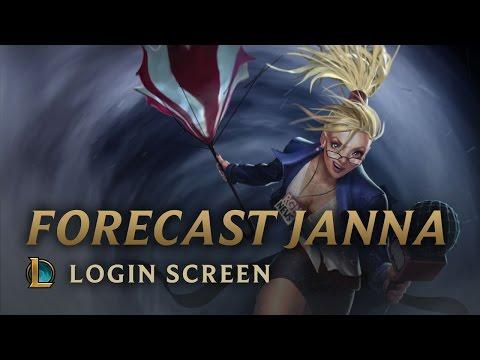 Forecast Janna   Login Screen - League of Legends