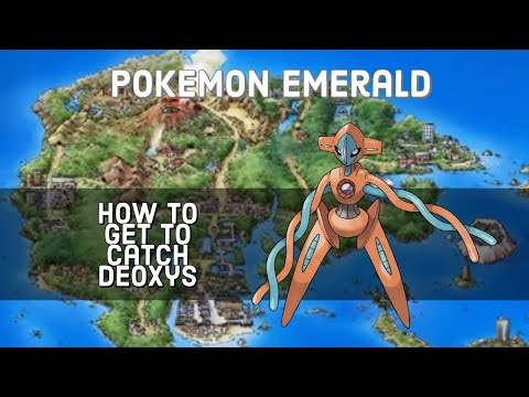 Pokemon Emerald - How to Catch Deoxys