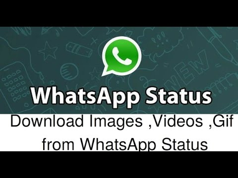How to Download Whatsapp Status Videos, Photos, Gif in Android