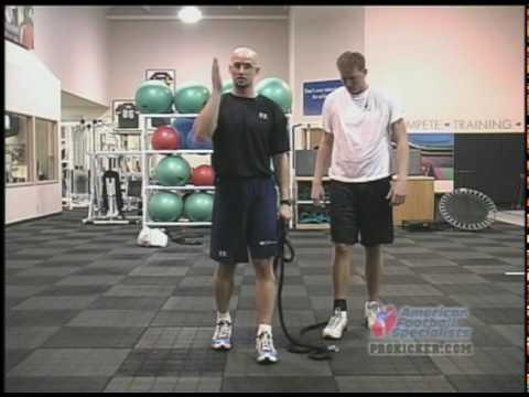 Improve Kicking Leg Strength -Travis Dorsch Strength Training, Power, Leg Speed Video DVD