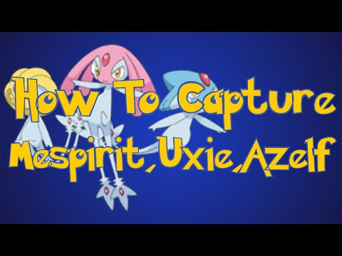 Pokemon Omega Ruby and Alpha Sapphire Tips: How To Catch Mesprit,Azelf, and Uxie