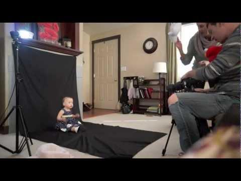 At Home Toddler Photoshoot - 2/10/13 - Carahslife VLOG