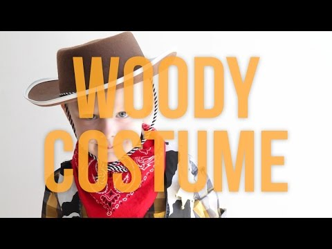 Toy Story's Woody - Homemade No Sew Halloween Costume