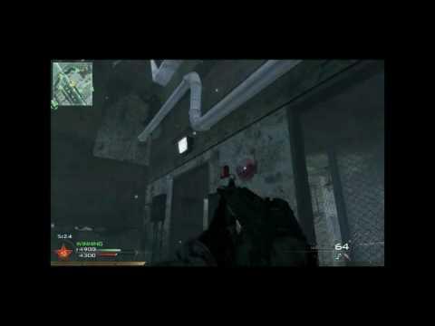 MW2 Knife throw kill montage
