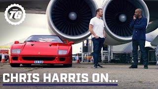 Chris Harris on... Ferrari F40 & Jaguar XJ220 | Top Gear: Series 29
