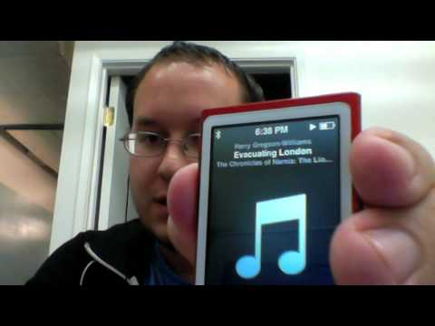 iPod nano 7G - Special Button with Advanced Controls