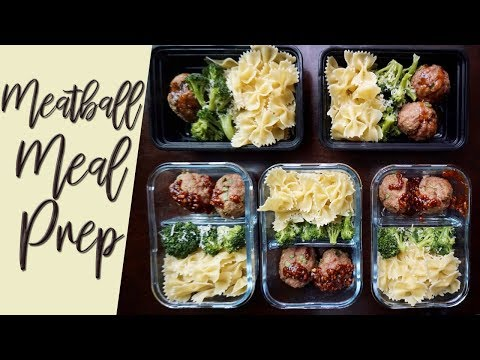 Affordable, Quick & Easy Turkey Meatball Meal Prep