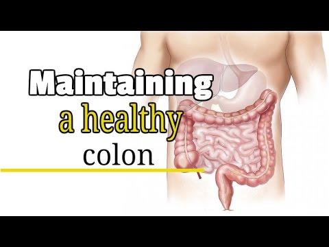 Maintaining A Healthy Colon