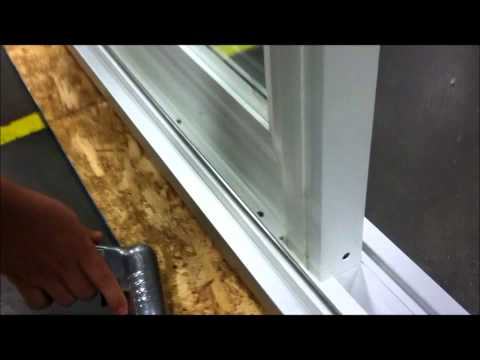 Paradigm Windows Removing Stationary Panel On Patio Door