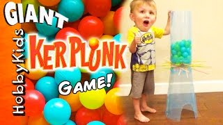 Biggest GIANT KERPLUNK Game! Don