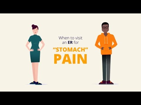 Stomach Pain?  Should you go to ER?