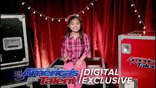 Singer Angelica Hale Talks About Her Exciting Performance on AGT - America