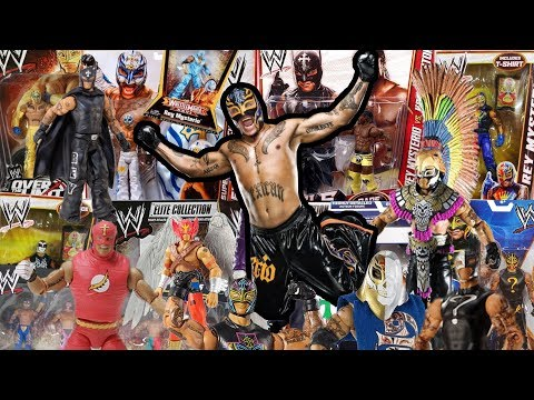 REY MYSTERIO | Reviewing Every Mattel WWE Wrestling Figure Made So Far!!!