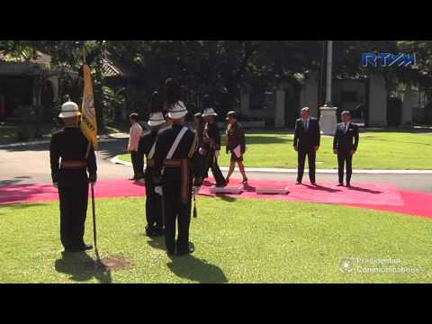 Presentation of Credentials of the Ambassador-Designate of Austria 8/7/2017